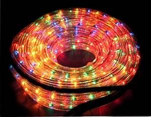 Guirlande Electrique Noel : guirlande en forme de tube multicolore ~ Teatrodelosmanantiales.com Idées de Décoration