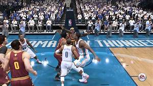 NBA LIVE 15 Russell Westbrook Dunks On Lebron James #2 ...