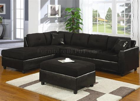 Black Microfiber Sofa And Loveseat by 20 Choices Of Black Microfiber Sectional Sofas Sofa Ideas