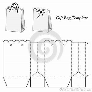 interesting gift bag template template box bag With handbag gift box template