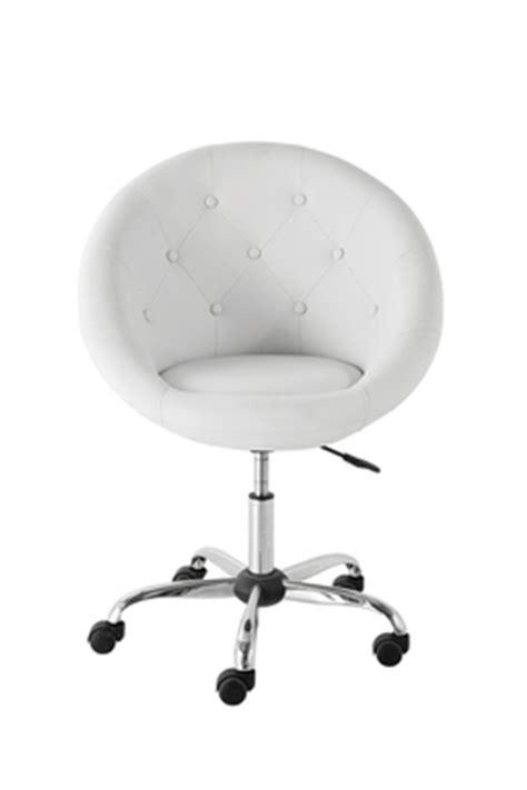 chaise de bureau design blanche chaise de bureau blanche pas cher urbantrott com