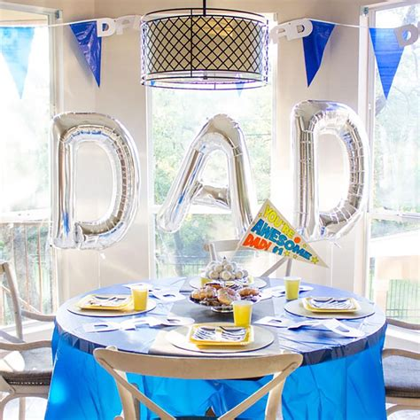 The only fact that might surprise you? Our Favorite Father's Day Decorations