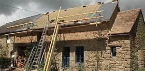 Rehausse Velux Toit Faible Pente : travaux et prix d une sur l vation de toiture ~ Nature-et-papiers.com Idées de Décoration