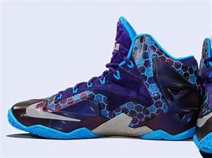Nike LeBron 11 - Court Purple - Reflective Silver - Vivid ...