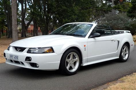 ford mustang cobra convertible rhd auctions lot