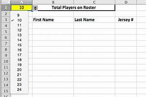 youth baseball lineup manager and template spiders elite With baseball team roster template