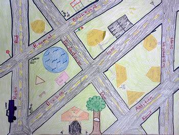 geometry project geometry town  judy  brett tpt