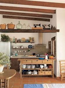 cuisine de campagne moderne nous seduit avec ces 10 idees With meuble cuisine style campagne