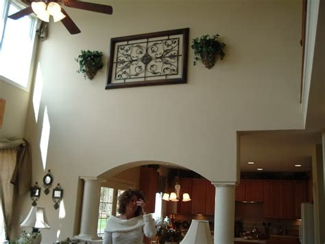 high ceiling wall ideas wall decor awesome decorating walls with vaulted ceilings decorating vaulted ceiling living