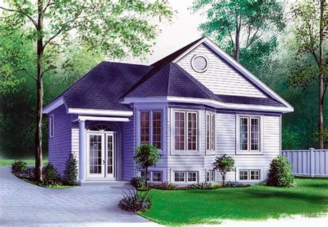 House Plan 65061 Narrow Lot One Story Victorian Style