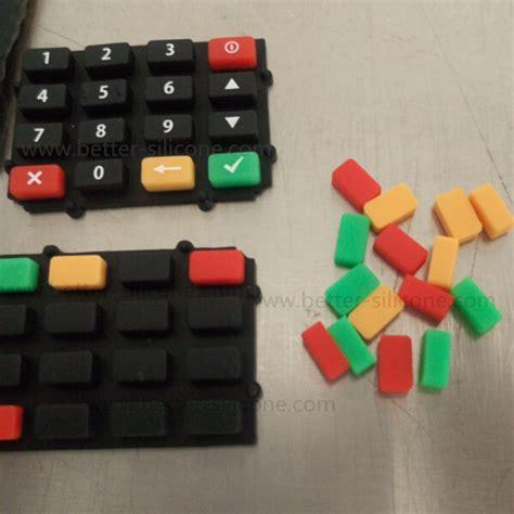 shore  hardness silicone rubber keyboard keypad