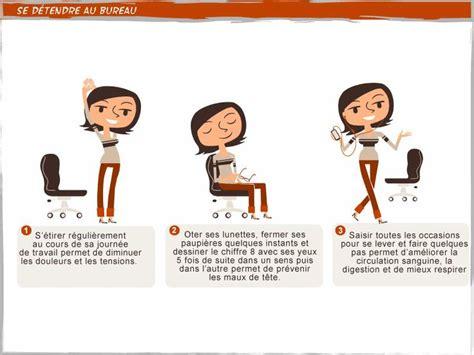 posture bureau les 10 meilleures images à propos de bien être au travail