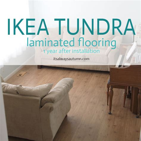 ikea tundra laminate floor review  year