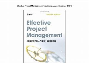 Effective Project Management 5th Edition Pdf  U0026gt  Donkeytime Org