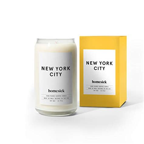 york unique state gift scented homesick candle