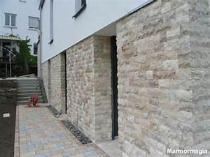 L Steine Verkleiden : travertin marmor klinker naturstein verblender mauer ebay ~ Frokenaadalensverden.com Haus und Dekorationen