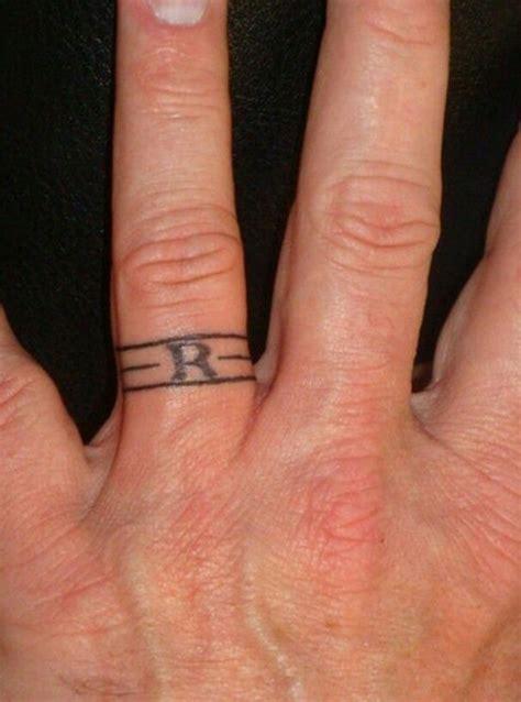 wedding band tattoo ideas wedding ring tattoos
