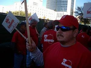 Jacksonville Workers Rally Against Construction Bosses ...