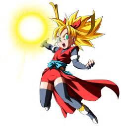 Dragon Ball Heroes Girl Super Saiyan