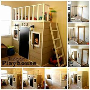 Indoor Rutsche Kinderzimmer : indoor playhouse spielhaus f rs kinderzimmer hausbetten h ttenbetten pinterest ~ Bigdaddyawards.com Haus und Dekorationen