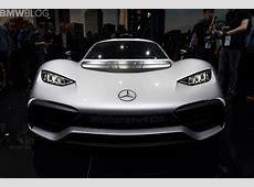 2017 Frankfurt Auto Show MercedesAMG Project ONE with