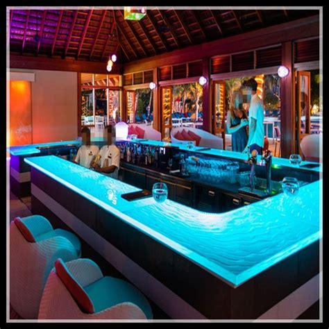 commercial moderne vin mini lumineux led comptoir de bar