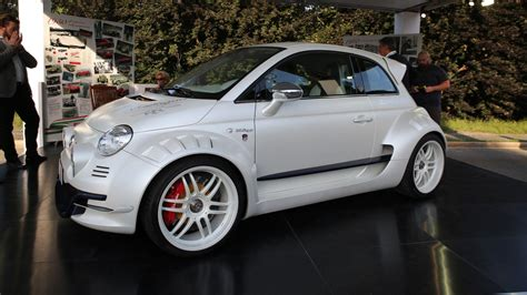 fiat 500 neupreis fiat 500 giannini is city car with 350 hp from alfa