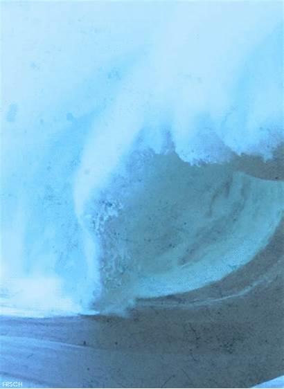 Tsunami Ocean Gifs Water Waves Sea Surf