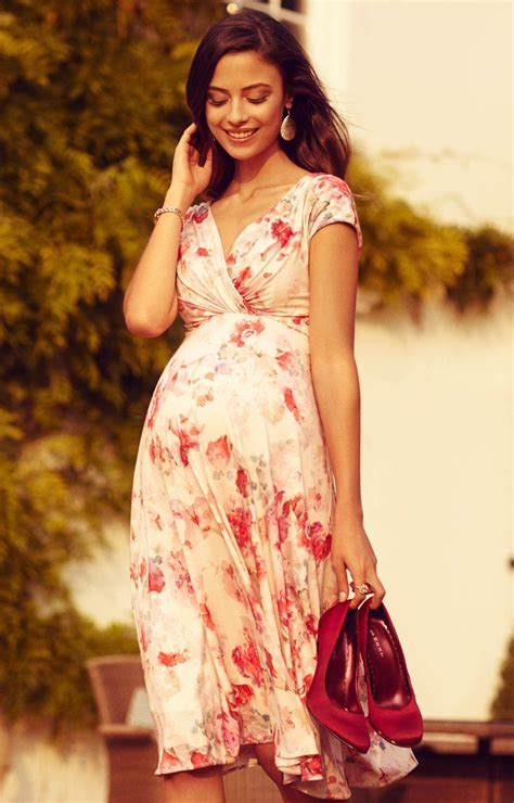 alessandra maternity dress short english rose maternity