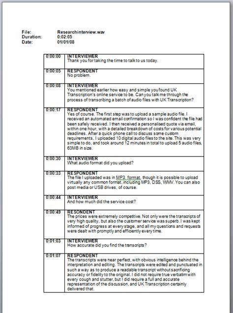 standard invoice templates transcript hk