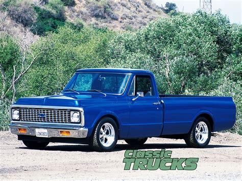 1972 Chevy Wallpaper by Chevrolet C10 1972 Blue Droped Trucks 72 Chevy Truck