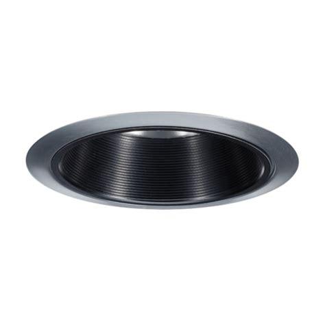 6 inch recessed lighting trim juno black baffle satin chrome recessed trim 6 inch 24
