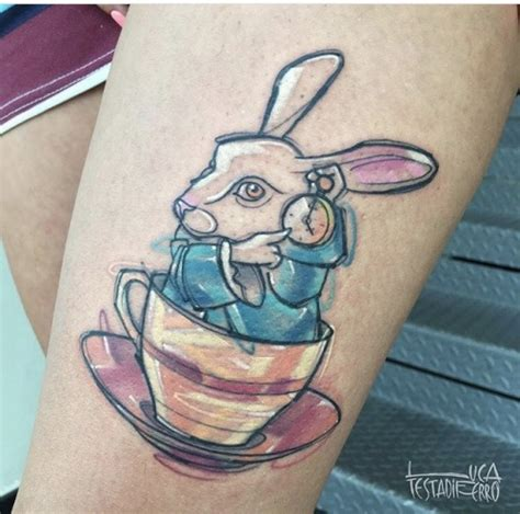 alice  wonderland tattoo tumblr