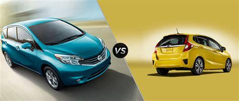 Nissan Versa Vs Honda Fit honda fit vs nissan versa specs and design compared