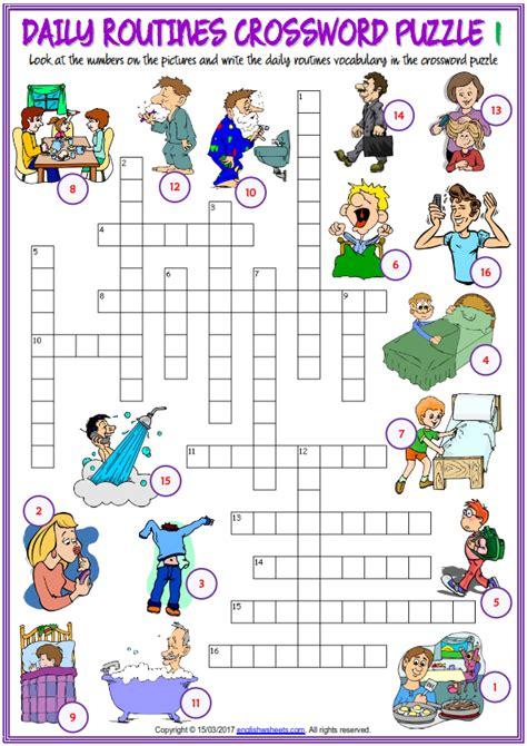 Guía Actividades  Daily Routine  English Classes