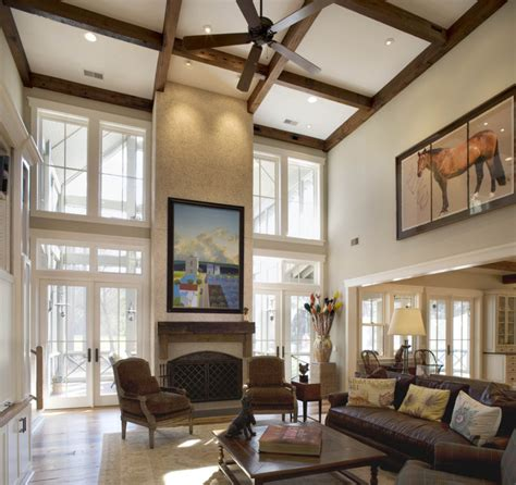 Decorating Ideas Vaulted Ceilings by Best Living Room With Vaulted Ceiling 7933 House