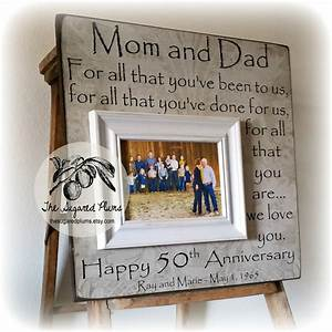 50th anniversary gifts parents anniversary gift for all that With 50 year wedding anniversary gift