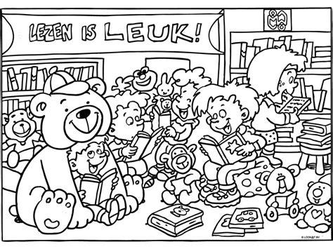 Kleurplaat Lezen by Kinderboekenfestival Suriname 187 Kleurplaat Lezen Is Leuk