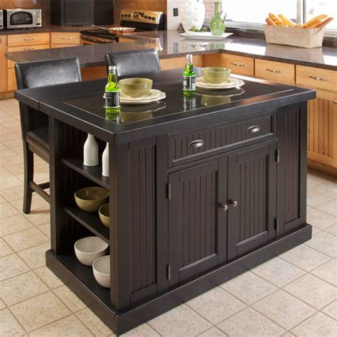 home styles kitchen island with breakfast bar home styles nantucket kitchen island two stools with