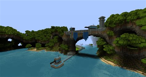 Fortified Cove Minecraft Project