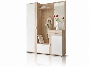 Garderobe Sonoma Eiche Weiß : paint garderobe 3tlg eiche sonoma wei ~ Bigdaddyawards.com Haus und Dekorationen