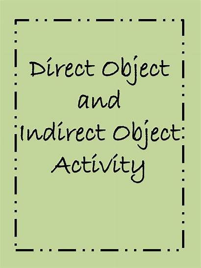 Indirect Direct Objects Let Don Teacher Flashy