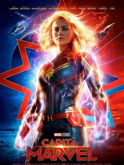 2019 - Capitã Marvel   Cartaz da marvel, Filmes hd, Marvel