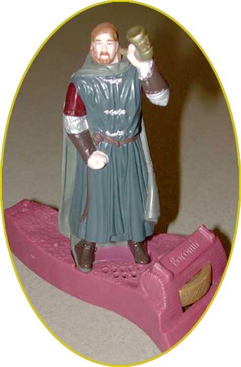 Amazon Com Burger King The Lord Of The Boromir Lord Of The Rings Burger King Toys 2001