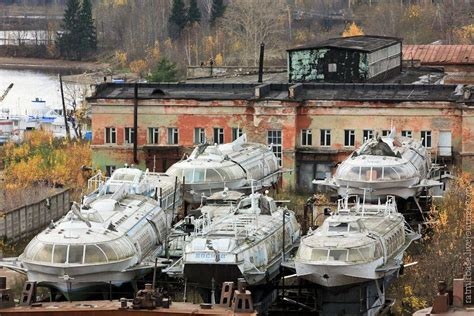 Russian Hydrofoil Boat For Sale by Raketa Abandoned Quot River Rockets Quot Of The Soviet Union