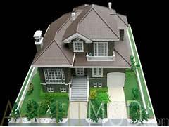 Build The Custom Dream House For Your Life Custom House Miniature Model
