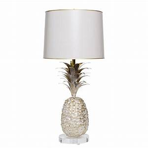Pineapple table lamp stray dog designs for Captured glass floor lamp