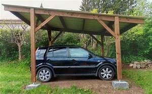 Abri Voiture Brico Depot : abri pour 1 ou 2 voitures var et bois ~ Edinachiropracticcenter.com Idées de Décoration