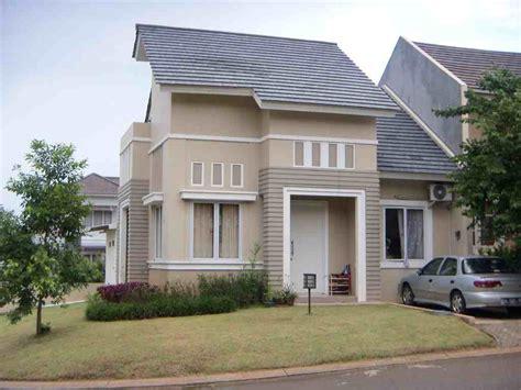 model warna cat rumah minimalis terbaru eksterior rumah