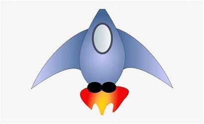 Ship Rocket Spaceship Clipart Cool Sprite Cartoon